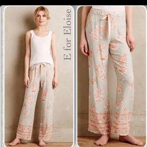 Anthropologie E for Eloise Pajama Pants